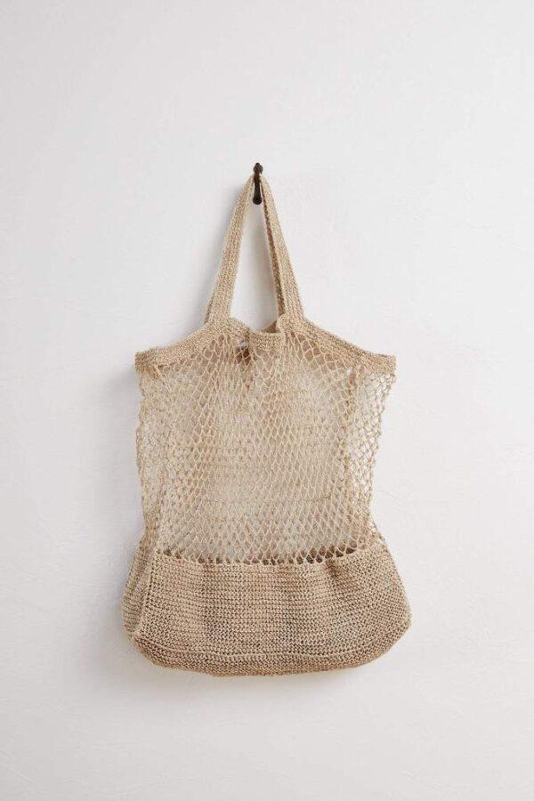 Hanf-String-Tasche