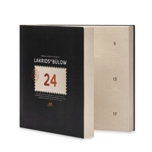 schwarze Box mit 24 Türchen